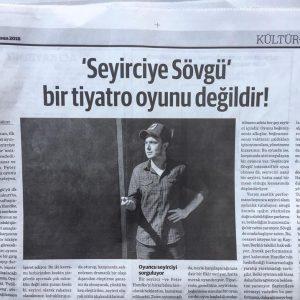 """Agos Gazetesi """"Seyirciye Sövgü"""""""