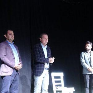 Bozcaada'da tiyatro festivali 'Lampedusa' ile başladı